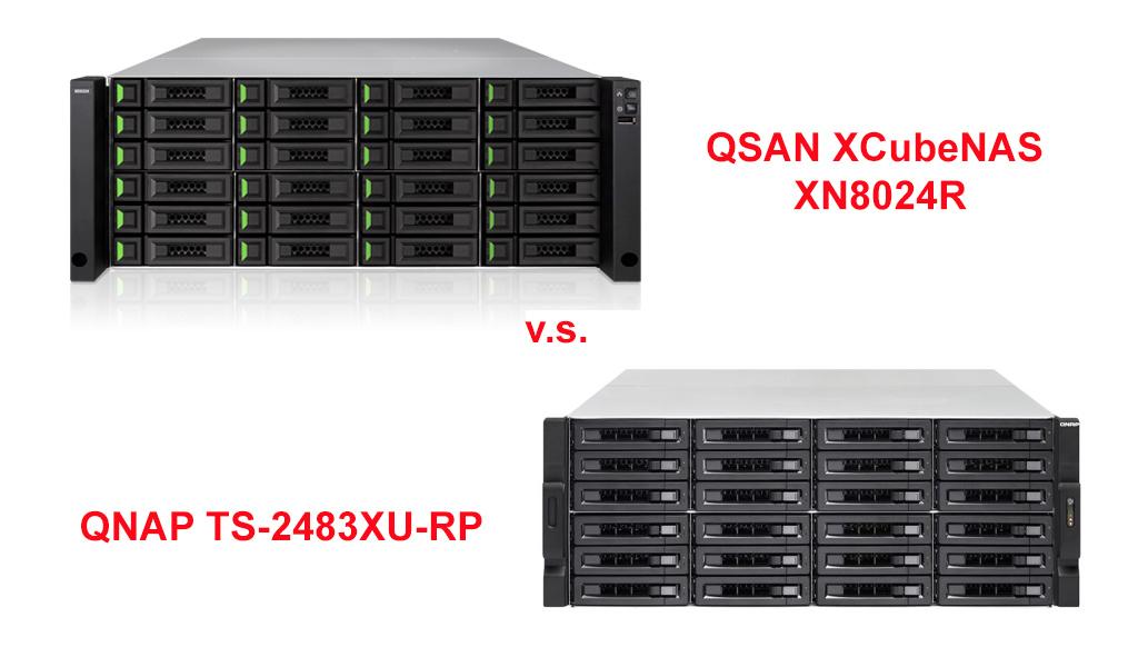XN8024R vs TS-2483XU-RP